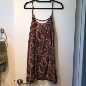 Paisley Print Flow Dress